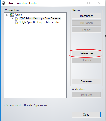 PC: Allow Citrix Receiver/Workspace access to your printer